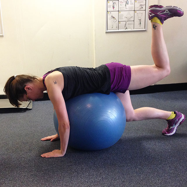 5 Swiss Ball Exercises for Strengthening Your Glutes | Run ...