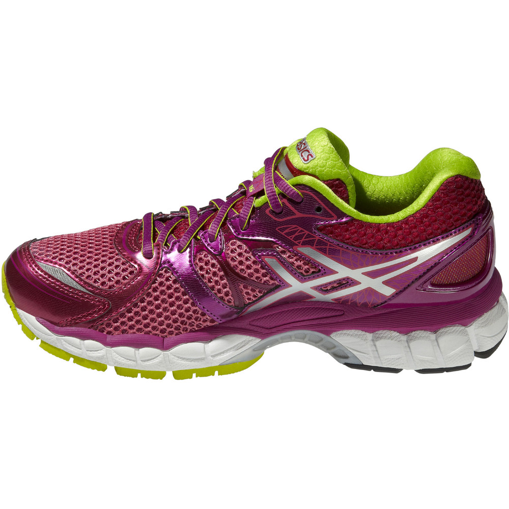 buy women 39 s asics gel nimbus 16 in pink run and become specialist running shop london. Black Bedroom Furniture Sets. Home Design Ideas