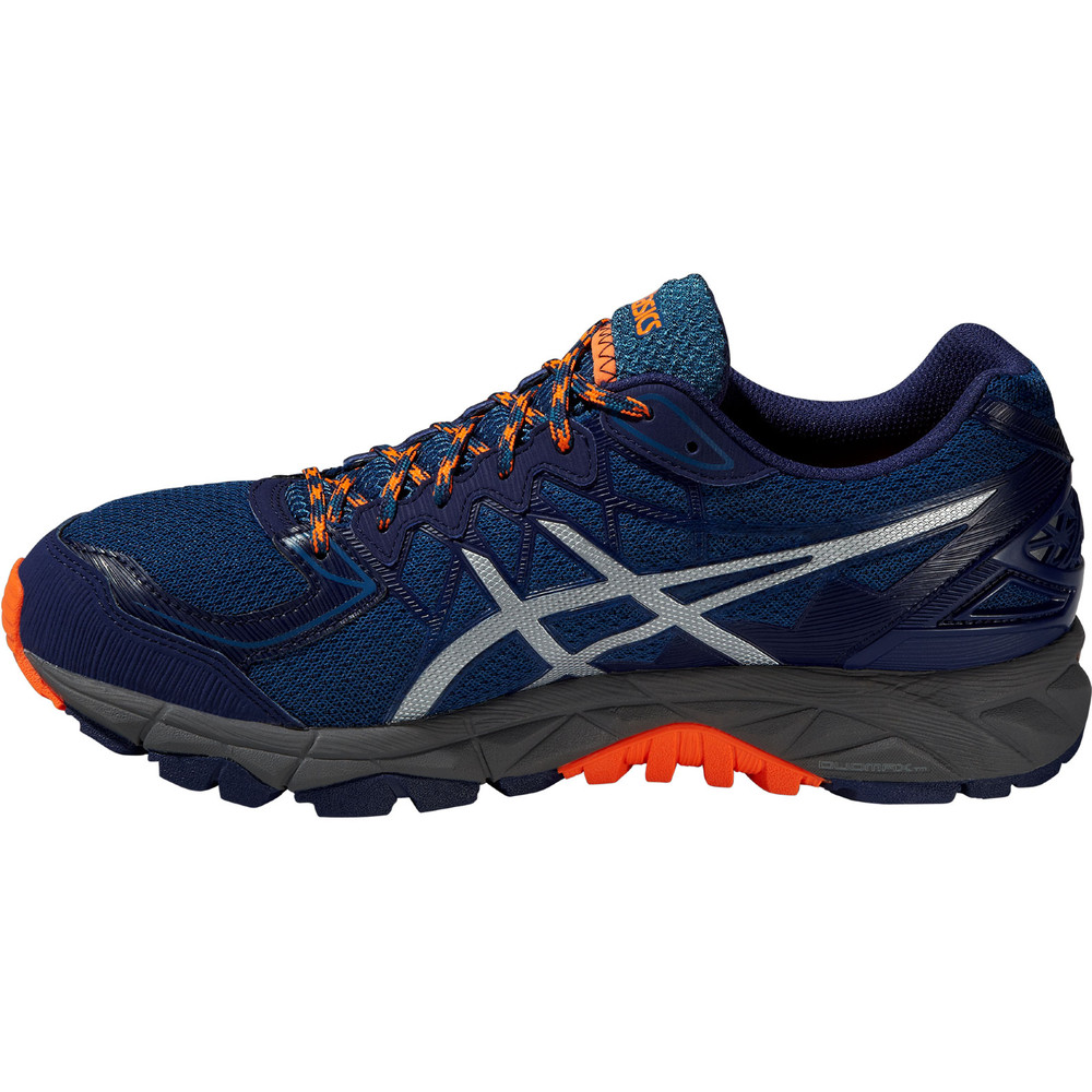 buy men 39 s asics gel fuji trabuco 4 in blue run and become specialist running shop london. Black Bedroom Furniture Sets. Home Design Ideas