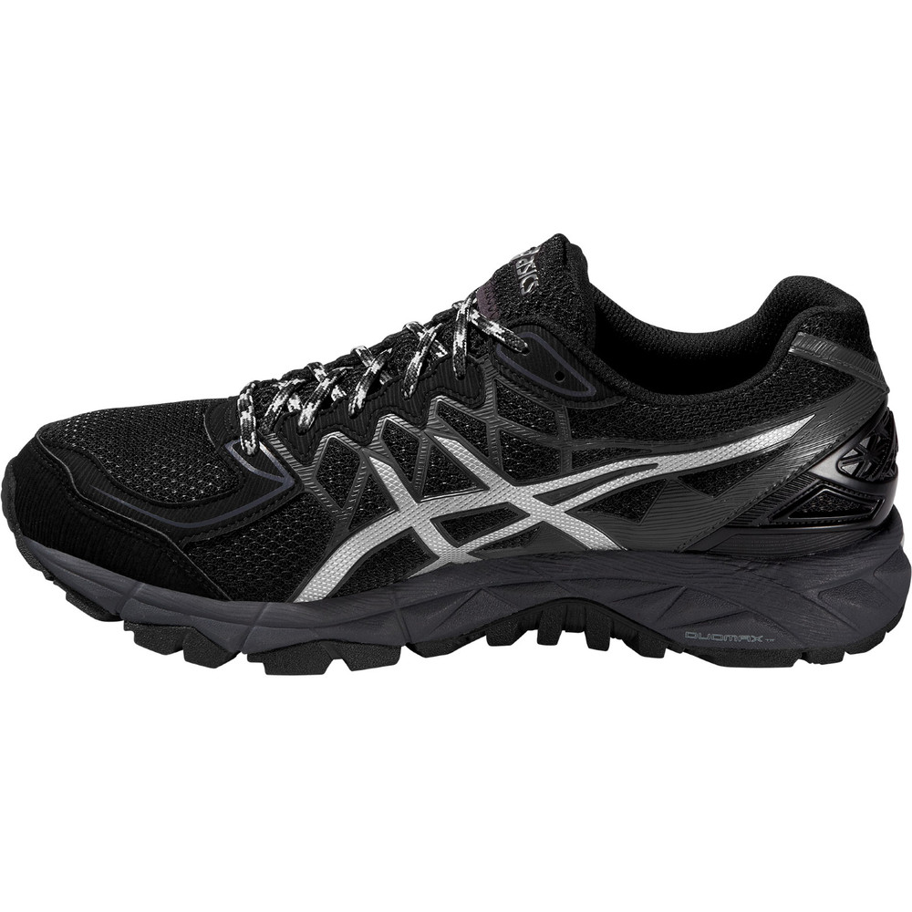 buy men 39 s asics gel fuji trabuco 4 gtx in silver run and become specialist running shop. Black Bedroom Furniture Sets. Home Design Ideas