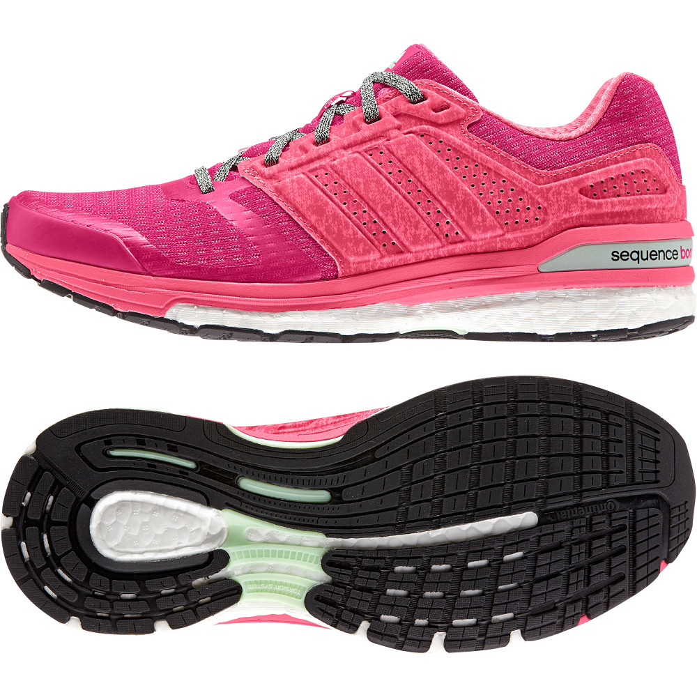 buy women 39 s adidas supernova sequence boost 8 in pink. Black Bedroom Furniture Sets. Home Design Ideas