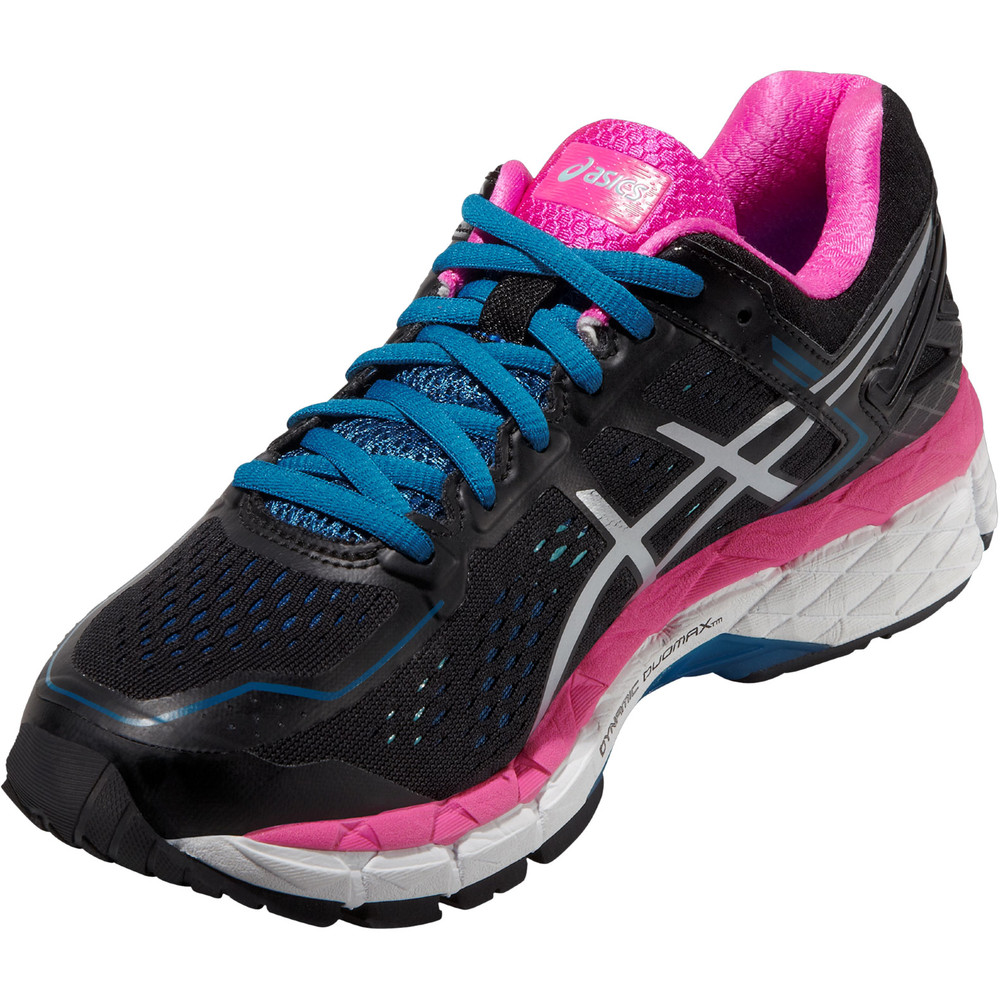 buy women 39 s asics gel kayano 22 in black run and become specialist running shop london. Black Bedroom Furniture Sets. Home Design Ideas