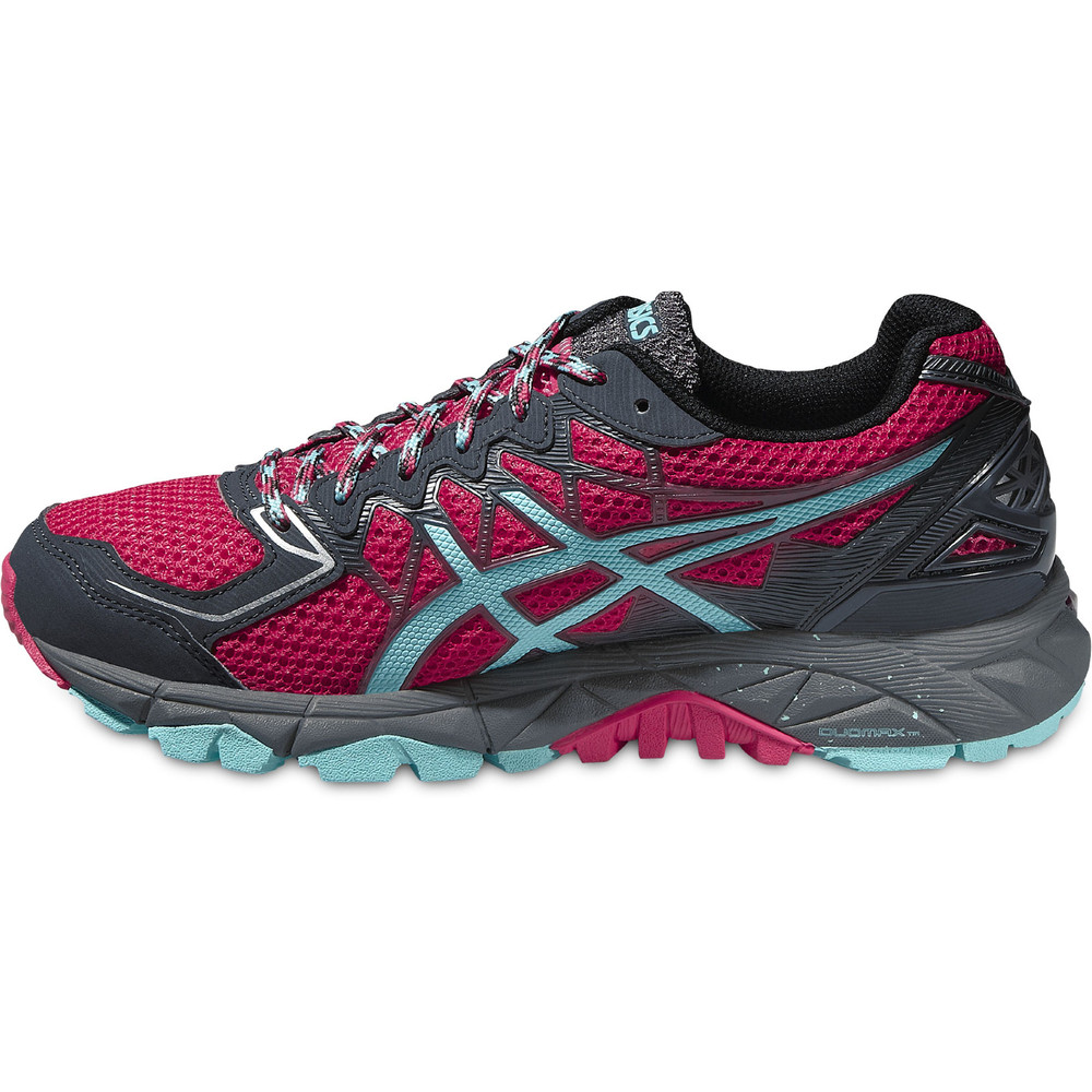 buy women 39 s asics gel fuji trabuco 4 in red run and become specialist running shop london. Black Bedroom Furniture Sets. Home Design Ideas